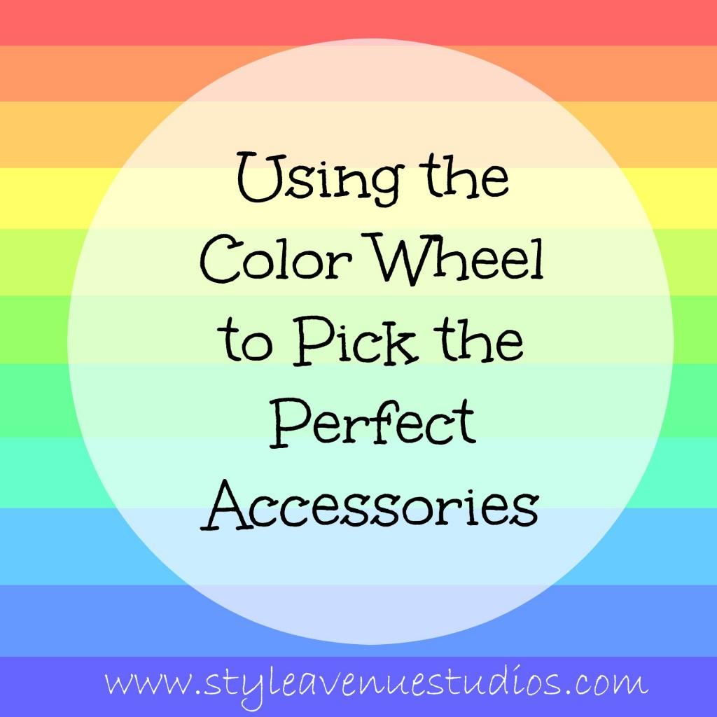 accessorizing, color wheel