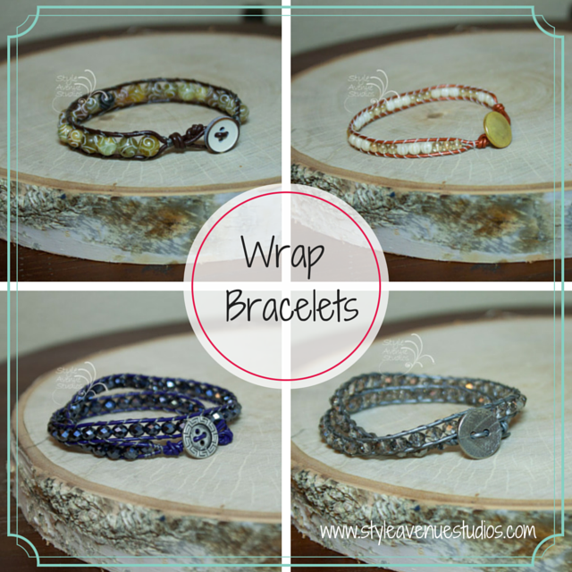 style avenue studios, bracelets,  men's bracelets, leather bracelet, button clasp