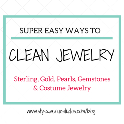 Cleaning jewelry how to tips