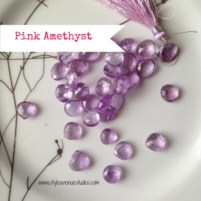 Lavender gemstone