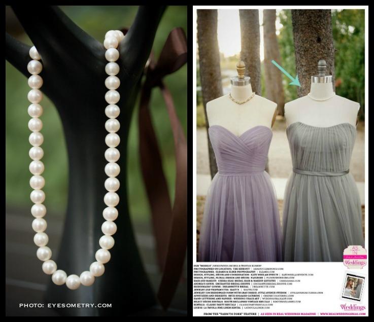 Bridesmaids Pearl Necklace