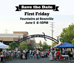 Roseville Fountains First Friday