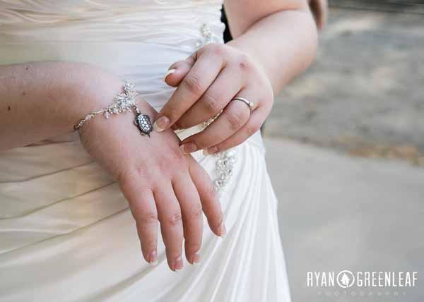 Silver and Crystal Bridal Bracelet