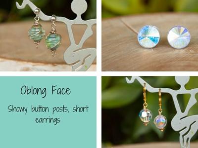 Earrings for Oblong Face Shape