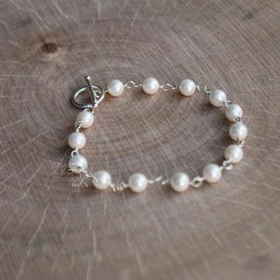 Pearl Bracelet June Birthstone