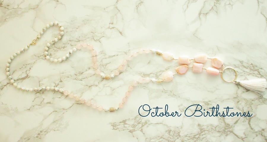 Handmade October Jewelry