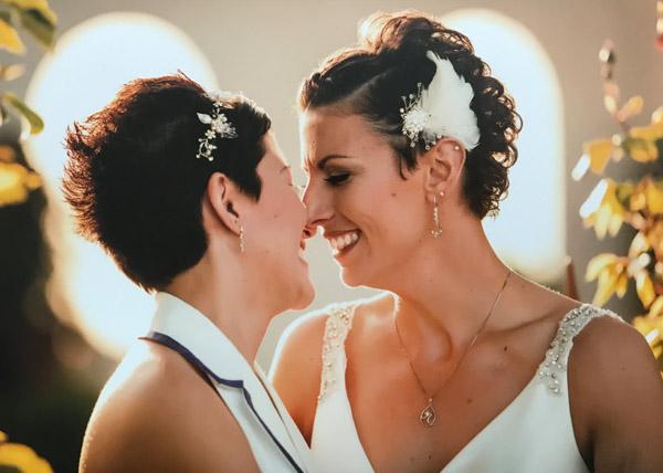 Short hair bridal accessories